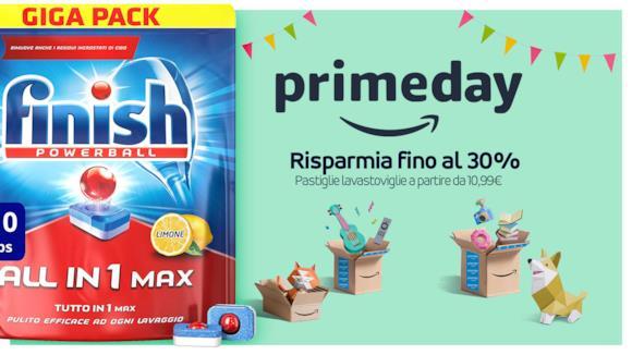 Amazon Prime Day, le offerte imperdibili per tabs per lavastoviglie