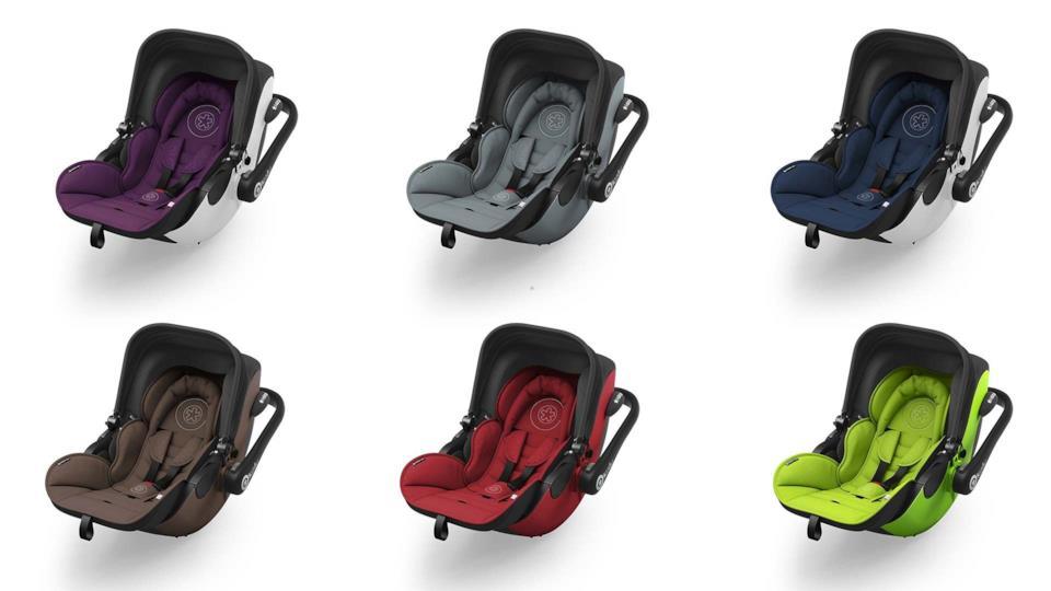 I colori del seggiolini auto per bambini Kiddy Evo-Luna