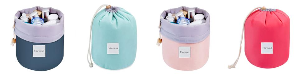 Mermaid beauty case portatile
