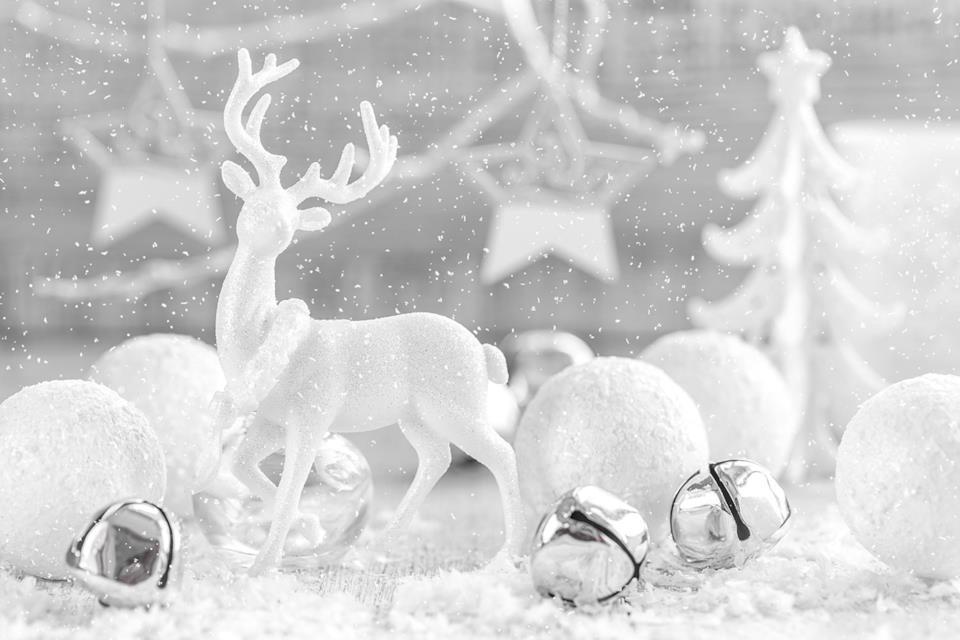 Decorazione natale renna