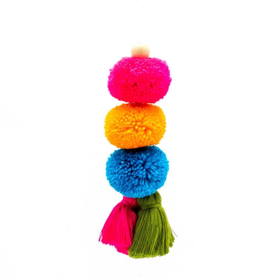 Decorazione per l'albero in lana