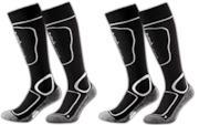 2 paia di calze da sci imbottite
