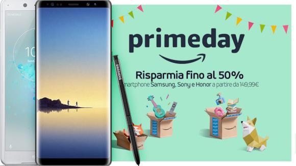 Prime Day: le migliori offerte Amazon per smartphone