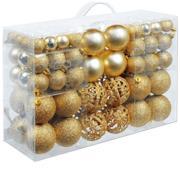 Palle di natale 100 pezzi oro