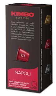 Kimbo Capsule Napoli Compatibili Nespresso