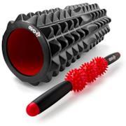 Foam roller con bastone per esercizi