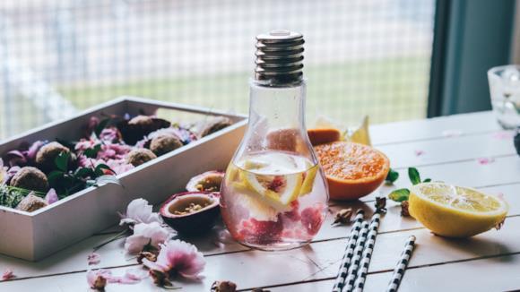 Borracce per le ricette detox water