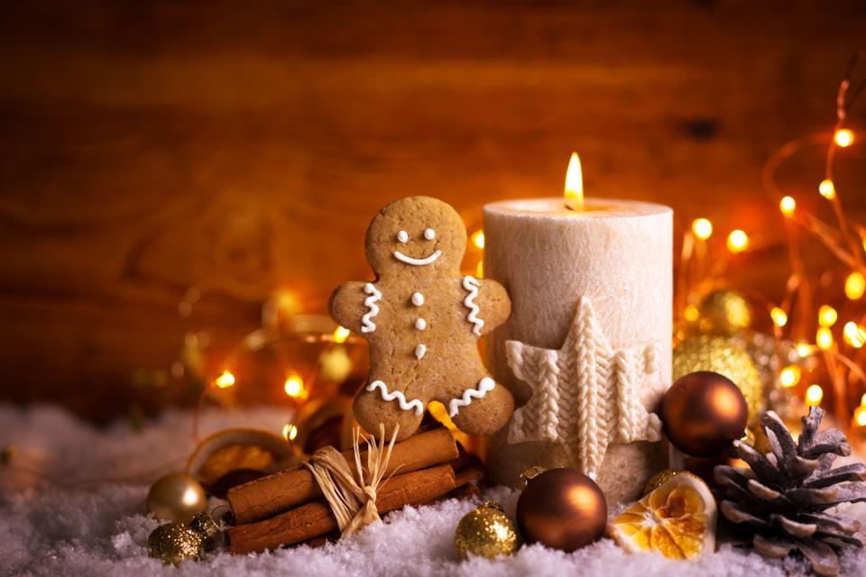 Decorazioni di Natale bianche