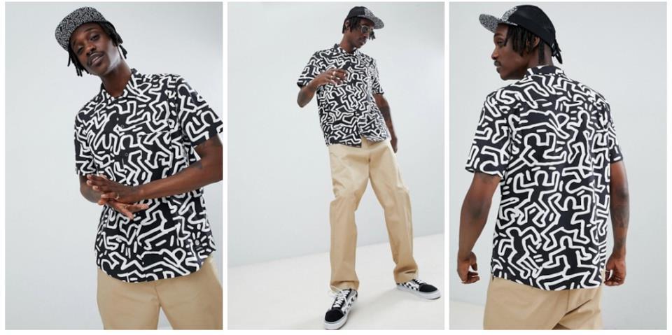 Idee regalo moda uomo Natale: camicia Element x Keith Haring