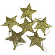 Piccoli Ornamenti Natalizi Stelle Dorate