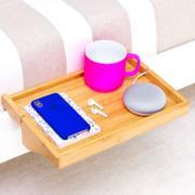 Mensola in legno di bambù per divani o letti