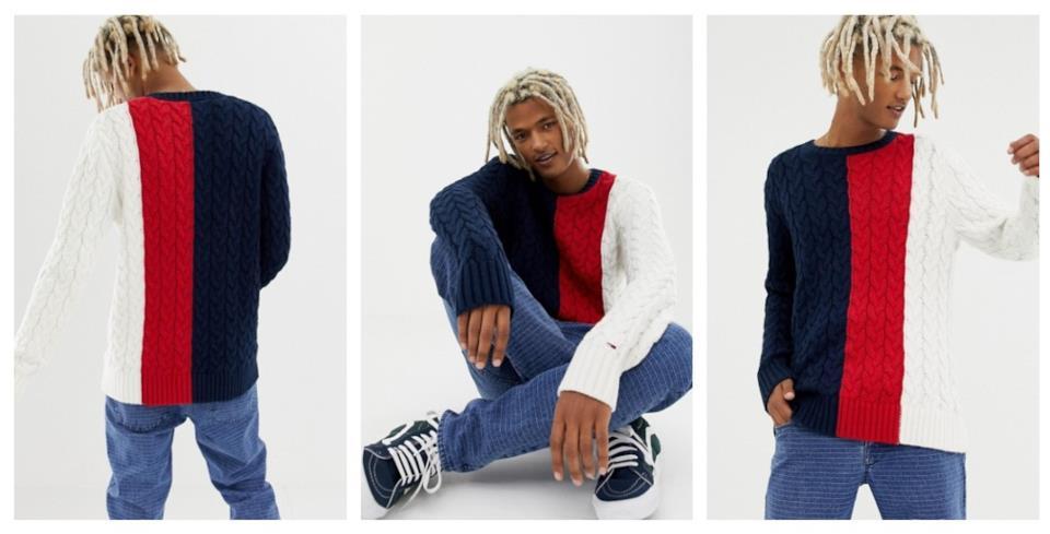Regali di Natale uomo: maglione Tommy Hilfiger