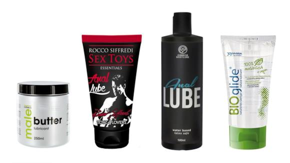 la top ten dei lubrificanti anali per uomo e per donna
