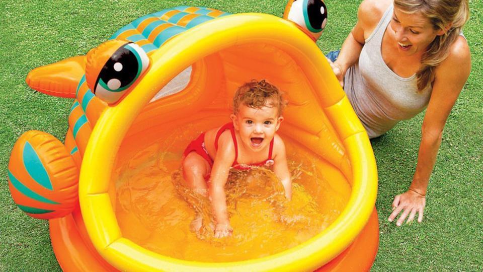 Intex: piscina per neonato a forma di pesce