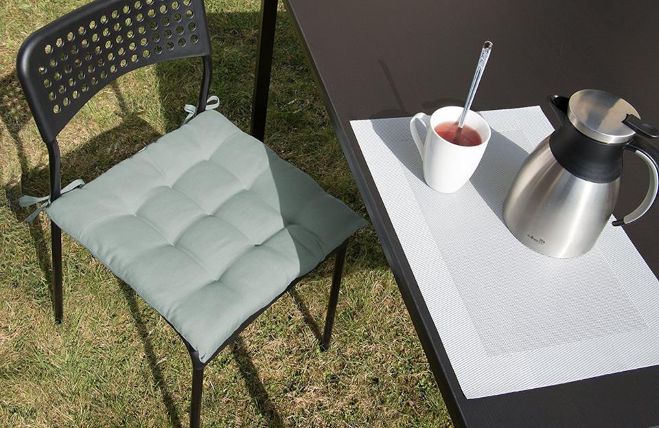 Cuscini da esterni Zollner per sedie formato 40x40