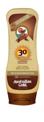 Australian Gold crema upside-down + bronzer 237 ml