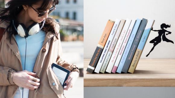 Migliori idee regalo a Natale per una donna che ama i libri