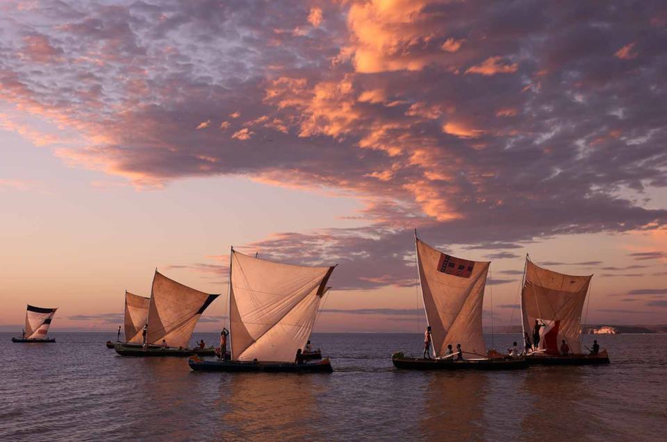 Barche in Madagascar