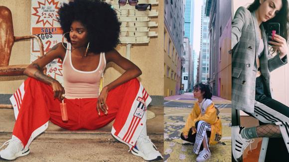 Pantaloni tuta donna Adidas 2018