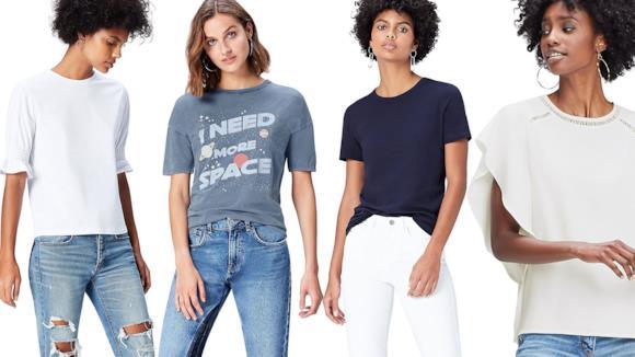 La collezione delle magliette firmata Find di Amazon