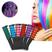 Temporary Hair Chalk Set