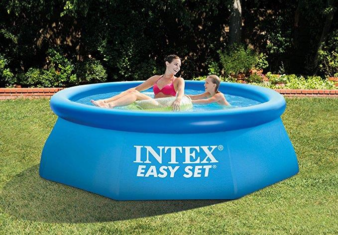 Piscina gonfiabile Easy Set di Intex su Amazon