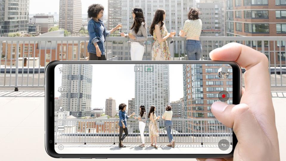 Fotocamera LG Smartphone Ottica Grandangolare