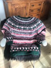 Maglione tradizionale islandese fatto a mano