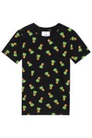 T-shirt con ananas