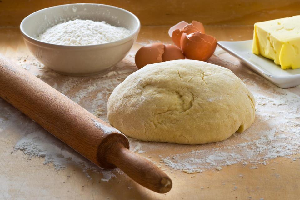 Impasto con farina