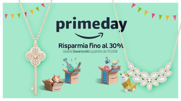 Gioielli Swarovski, le migliori offerte del Prime Day