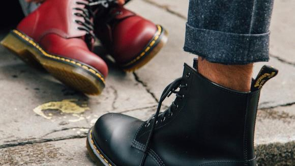 Dr Martens 1460 nere e Cherry Red