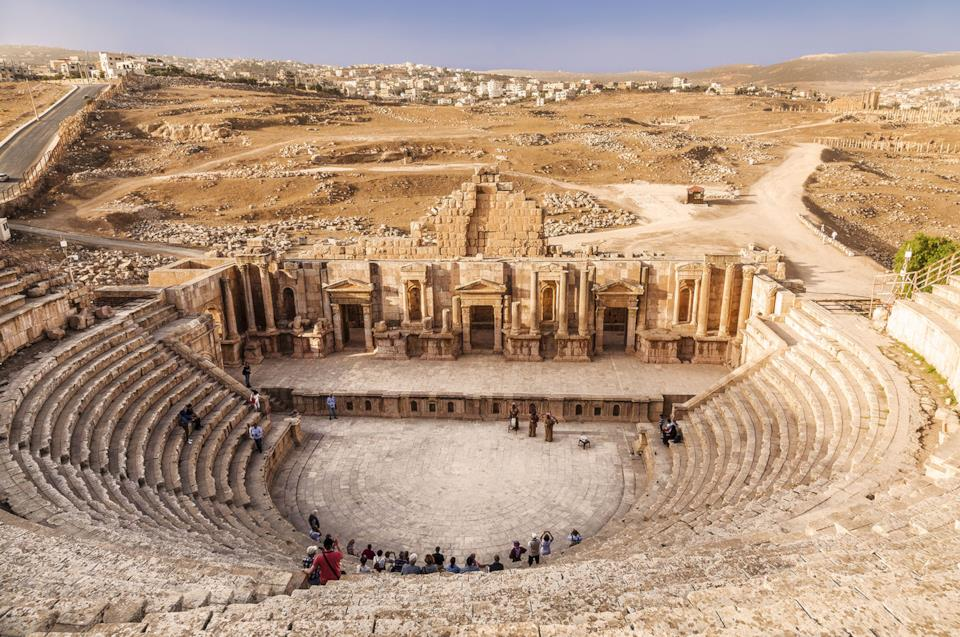 Jerash in Giordania