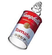 Applique con presa Canned Light