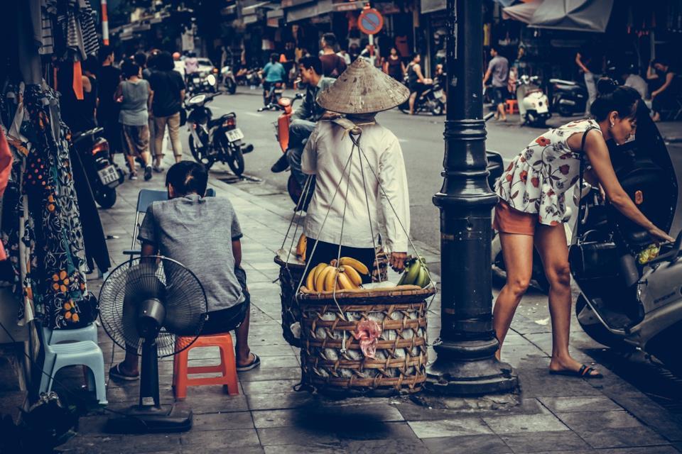 Persone in Cambogia