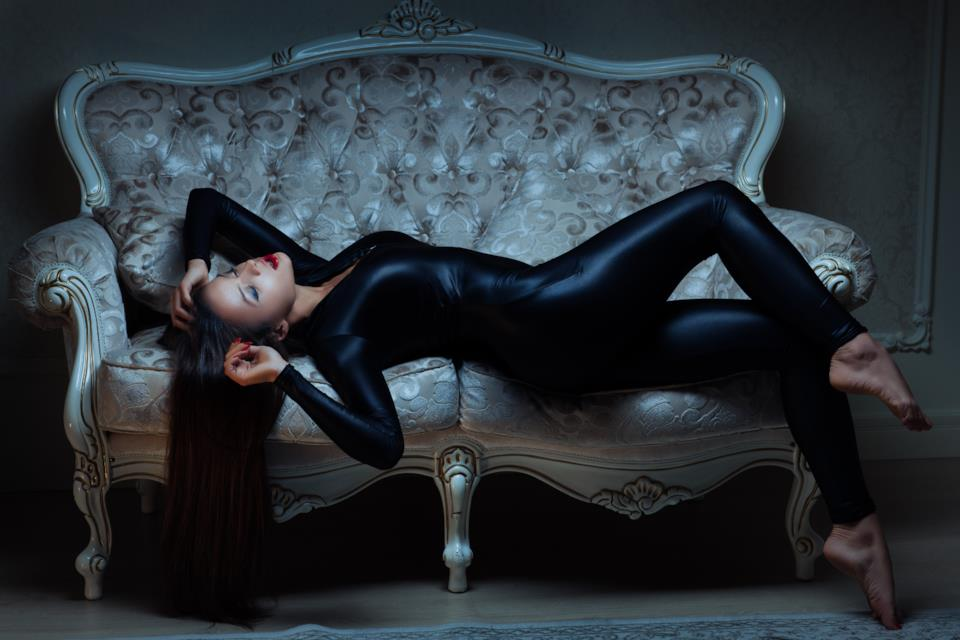 Tute intere, catsuit e jumpsuit in stile fetish per donna