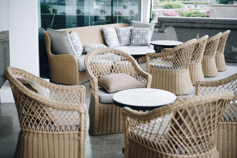 Cuscini da esterni per divani e salotti da giardino
