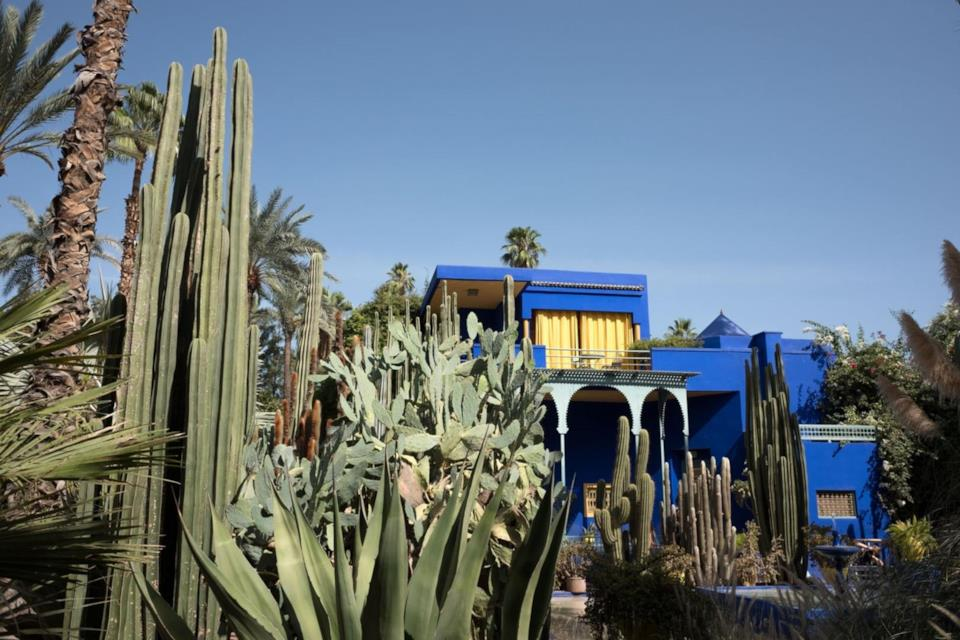 I giardini Majorelle a Marrakech in Marocco