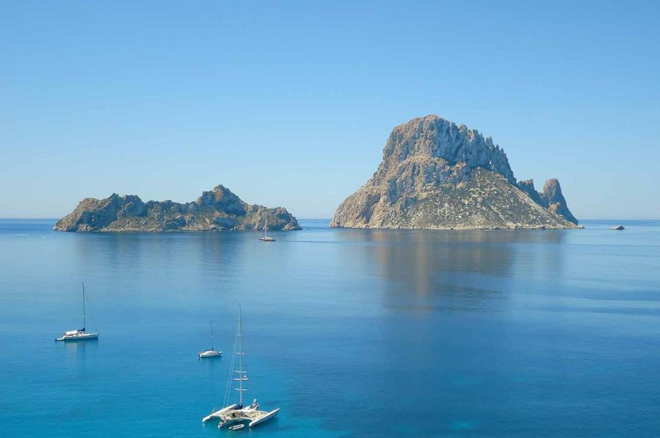 Isolotto di Es Vedrà a Ibiza
