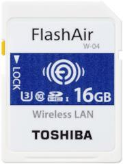 FlashAir W-04 - scheda di memoria