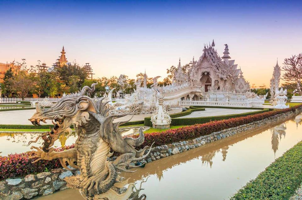 Tempio Bianco di Chiang Rai in Thailandia