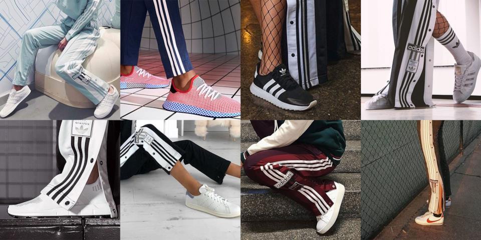 Modelli di scarpe da usare con le tute Adidas