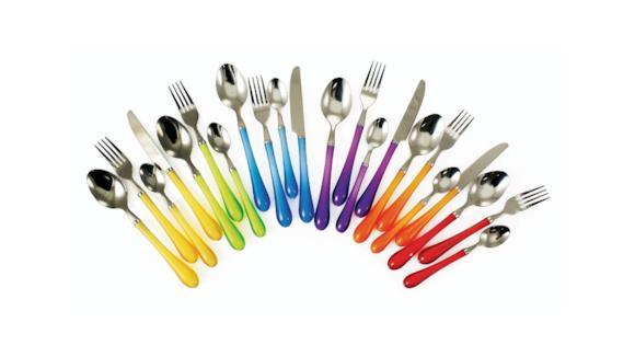 Una guida pratica e utile per scegliere le posate colorate migliori