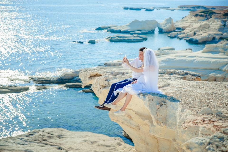vestito per la sposa matrimonio al mare