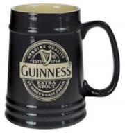 Guinness - Boccale da birra in ceramica, 1 pinta