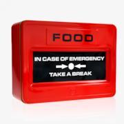 Cassetta per biscotti d'emergenza