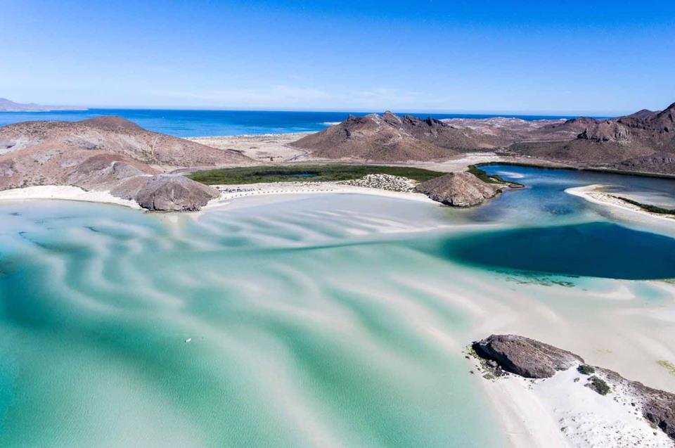 Cosa vedere in Messico: Balandra Beach in Baja California