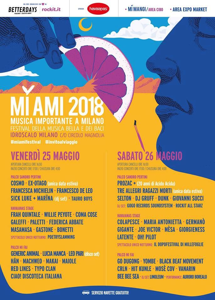 MI AMI Festival Lineup