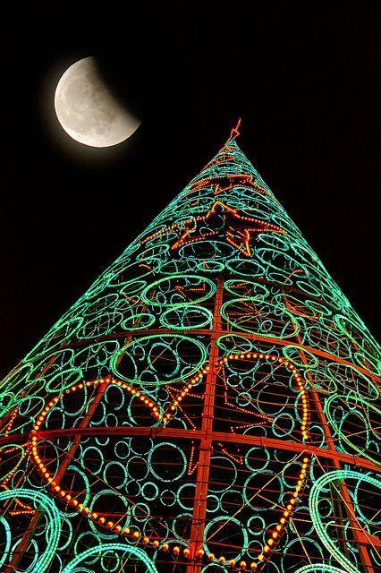 Albero di Natale di Madrid