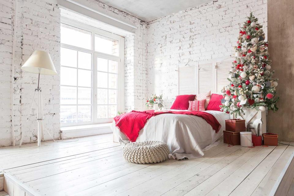 Albero di Natale da parete in stanza